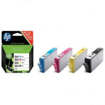 Pack Combo 4 Tinteiros HP 364