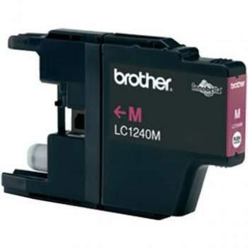 Tinteiro Brother Compatível LC1220 / LC1240M Magenta