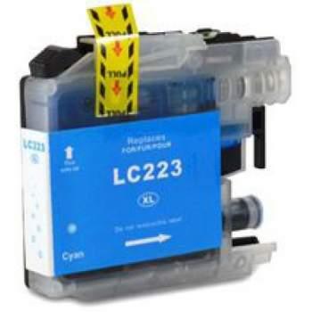 Tinteiro Brother Compatível LC223 XL Azul
