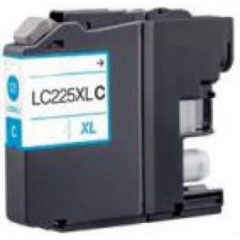 Tinteiro Brother Compatível LC225 XL (Nova versão V2) Azul