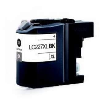 Tinteiro Brother Compatível LC227 XL (Nova versão V2) Preto