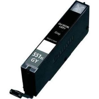 Tinteiro Canon Compatível CLI-551GY XL - cinza