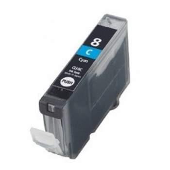 Tinteiro Canon Compatível CLI-8C Azul