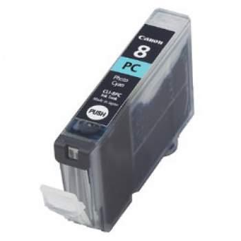 Tinteiro Canon Compatível  CLI-8PC Foto Azul (profissional)