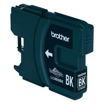Tinteiro Compatível Brother LC980BK / LC1100BK Preto