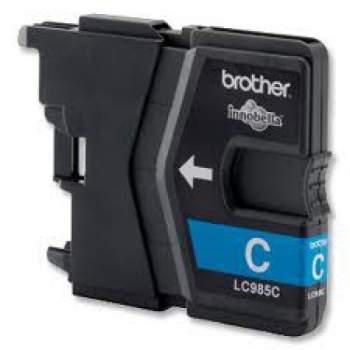 Tinteiro Compatível Brother LC985C azul