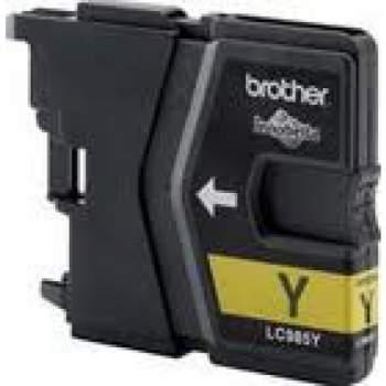 Tinteiro Compatível Brother LC985Y amarelo