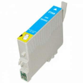 Tinteiro Epson Compatível T0552 azul