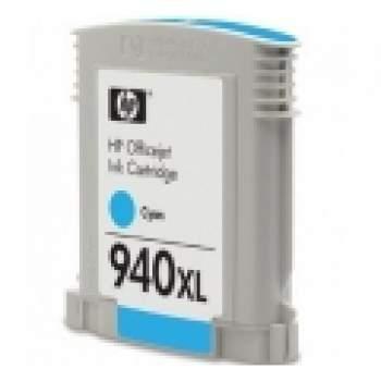 Tinteiro HP 940XL Azul Compatível (C4907AE)