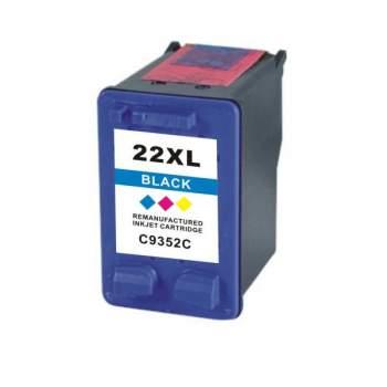 Tinteiro HP Reciclado Nº 22 XL tricolor (C9352CE)