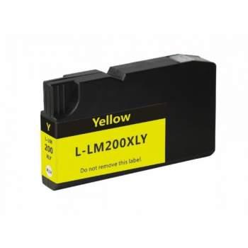 Tinteiro Lexmark Amarelo Nº 200 XL Compatível (14L0177)