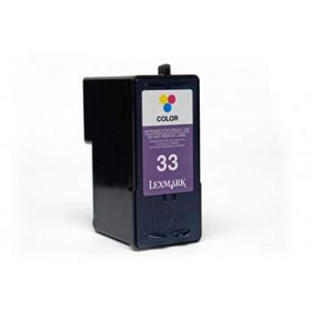 Tinteiro Lexmark Compatível N 33 Cor