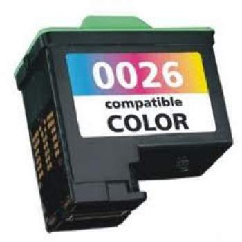 Tinteiro Lexmark Reciclado Nº 26 ou 27 tricolor