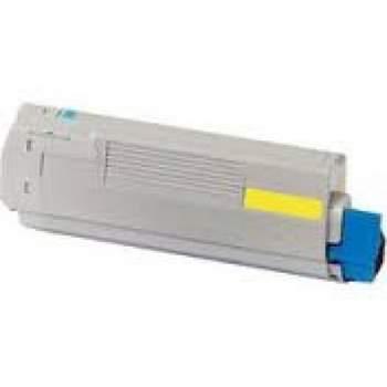 Toner Compatível OKI C860 Amarelo (44059209)