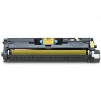 TONER HP 121A / 122A Compatível Q3962A / Q9702A AMARELO