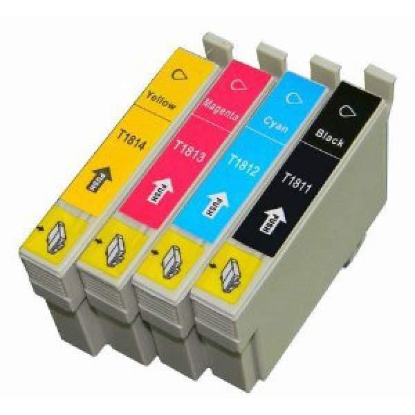 Conjunto 4 Tinteiros Epson 18 XL - ref. T1811/2/3/4 (T1815)