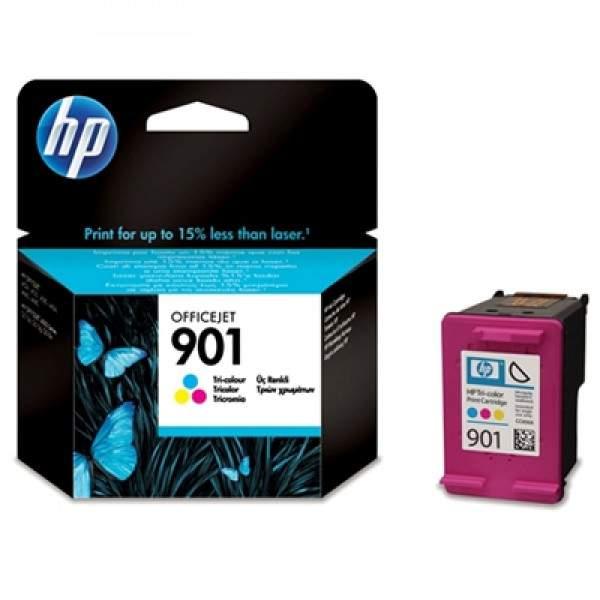 Tinteiro Original Tricolor HP 901 Officejet (CC656AE)